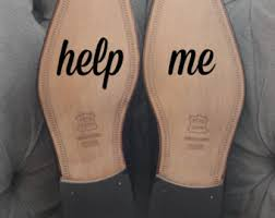 wedding shoes help me help me shoe sticker etsy