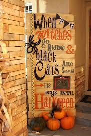halloween halloween doors diy decor homemade decorations