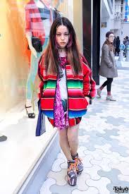 Mexican Rug Sweater Hirari Ikeda In Mexican Blanket Jacket U0026 Moonspoon Saloon