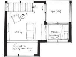 westcoast500 1 upper upstairs small house floor plan couple living
