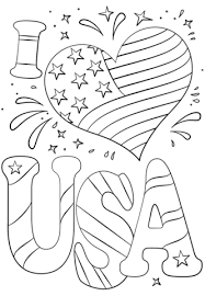 I Love Usa Coloring Page Free Printable Coloring Pages Coloring Pages Usa