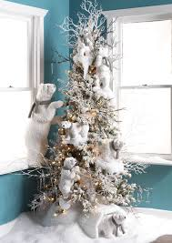 Skiing Polar Bear Christmas Decoration by Decorated Christmas Tree Ideas Photo Gallery At Shelley B