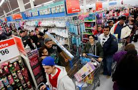 wal mart is kicking black friday sales at 6 pm thanksgiving