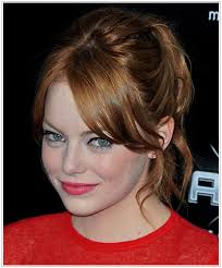 emma stone natural hair stars who are faking it which celebs hide their natural hair color