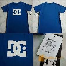 Baju Dc baju dc ss blue original denpasar jualo