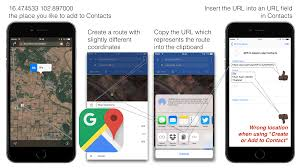 How To Enter Coordinates In Google Maps Gps Coordinates In Contacts Inotes4you