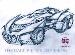 batman car drawing enrico marini on twitter