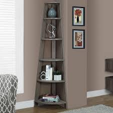 Bookcase Corner Unit Latitude Run Sandara Corner Unit Bookcase Reviews Wayfair