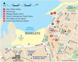 Map Of London England by Margate Tourist Map Margate England U2022 Mappery