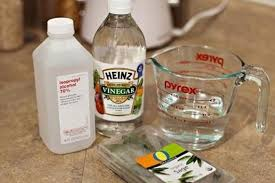 diy laminate floor cleaner made and loved used citrus