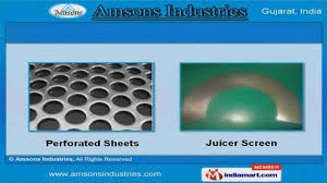 nickel electroforming electroformed nickel screens by amsons industries ahmedabad
