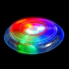 led light up toys wholesale flashing panda led light up multi color flashing 10 inch frisbee