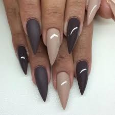 30 fotos de uñas decoradas con color marrón brown nails 55