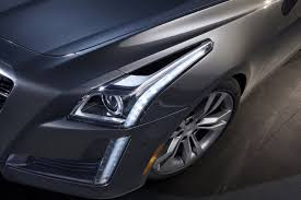 cadillac ats headlights cadillac explains its aggressive headlight design autoevolution