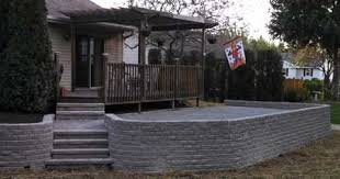 Patio Retaining Wall Pictures Parm U0027s Landscape Management Inc Sheboygan Wi