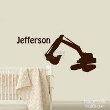 popular smoking names buy cheap smoking names lots from china custom name wall sticker excavator children name wall decal baby nursery room diy excavator stickers 596c