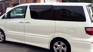 mpv van toyota alphard 2 4 auto 8 seat mpv day van with nice miles in