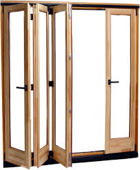 oak bifold doors with glass making accordion glass doors crowdbuild for