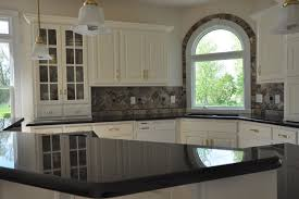 backsplash for kitchen with granite granite countertops and tile backsplash ideas eclectic kitchen