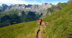 Pyrenees Mountains Map Backpacking The Pyrenean Haute Route