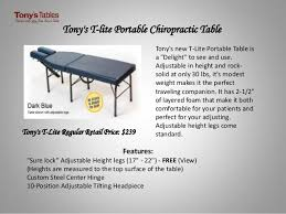 chiropractic tables for sale portable chiropractic tables for sale