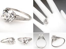 vintage weddings rings images Vintage and antique engagement rings from eragem chic vintage brides jpg