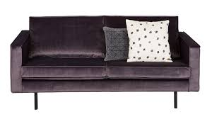 canape rodeo rodeo velvet gallery of rodeo mauve rectangle with rodeo velvet