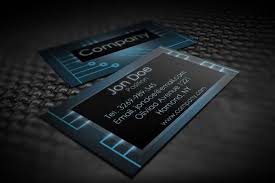 modern electronic business card templates suitable for any