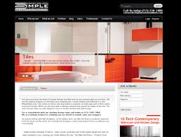 kitchen website design web design ny for simple kitchen and bath company increased revenues