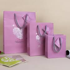 Where To Buy Party Favors Love Heart Pink Paper Bag Best Wishes Valentines Gift Bag Art