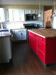 kitchen impressive l shape kitchen decoration with butcher block