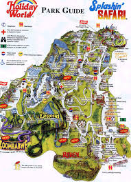 Map Of Wisconsin Dells by Mt Olympus Water Park