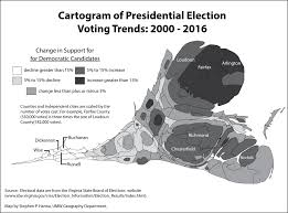 Map Of Loudoun County Va Farnsworth And Hanna Column Presidential Election Voting Trends