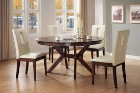 Modern Kitchen Tables by Round Kitchen Table And Chairs Set Black Round Dining Table Black