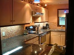 Built In Wall Toaster Adorable Cream Brown Colors Natural Stone Backsplashes With Grey