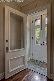 Houzz Entryway Entryway Tile Cement Tile Shop Blog