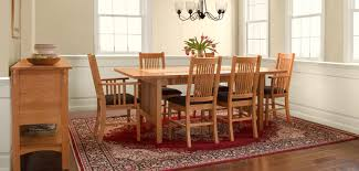 mission u0026 craftsman dining tables vermont woods studios