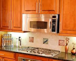 decorative kitchen cabinets baffling colorful decorative tiles kitchen backspash with