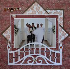wedding scrapbook album me and my cricut