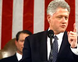 bill clinton addresses a joint session of congress february 17