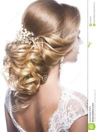 hairstyles back view only beautiful woman in image of the bride beauty hair hairstyle back