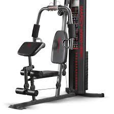 amazon com marcy 150 lb multifunctional home gym station mwm