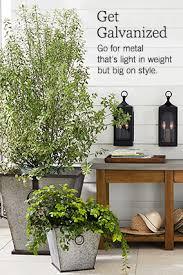 patio u0026 outdoor planters pottery barn