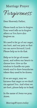 marriage prayers for couples a marriage prayer to help us forgive prayer