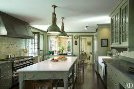 what color to paint cabinets with granite painted kitchen cabinet ideas architectural digest