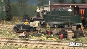garden trains g whiz gang indoor large scale train display youtube