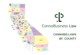 Sonoma California Map Cannabusiness Law Premieres First Ever Ca State Wide Map Of