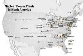 map us canada map of nuclear power plants in america