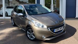 peugeot 209 used peugeot 208 allure grey cars for sale motors co uk