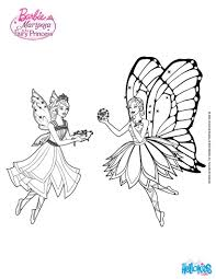 barbie fairy coloring pages online for kid 4355